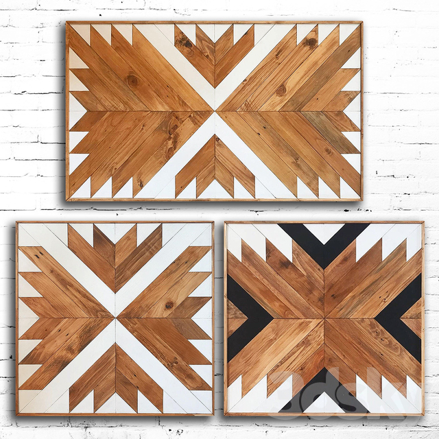 Wooden panel 98