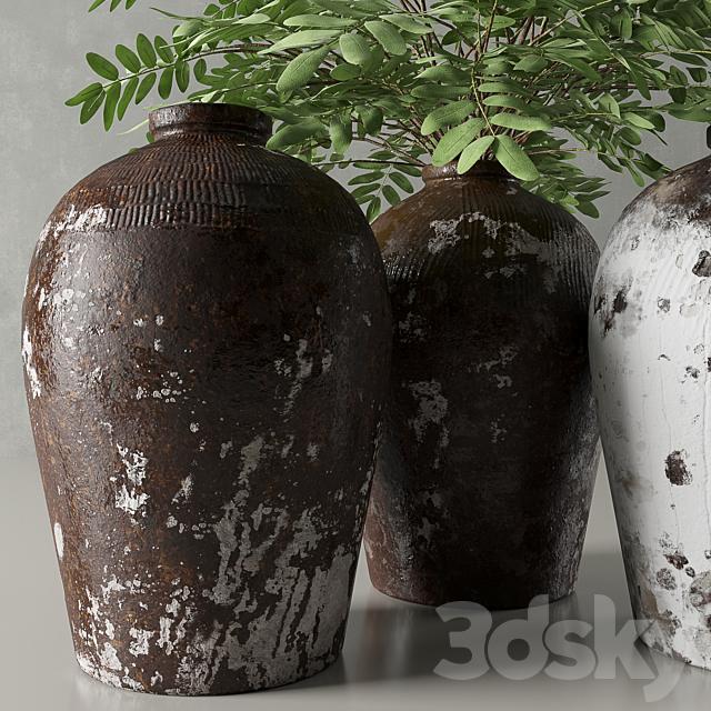RH Rice Wine Vessels