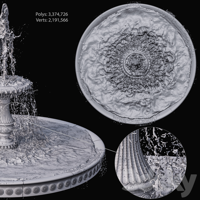Classic fountain 1