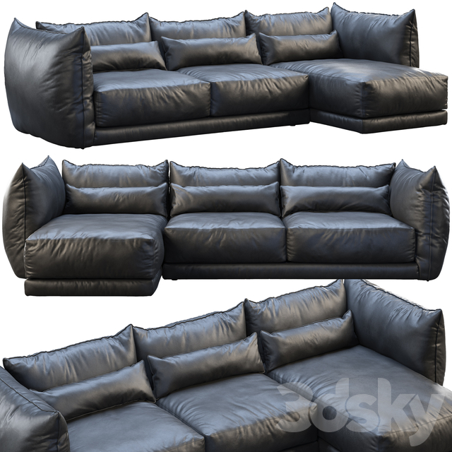 Montauk jane leather sofa