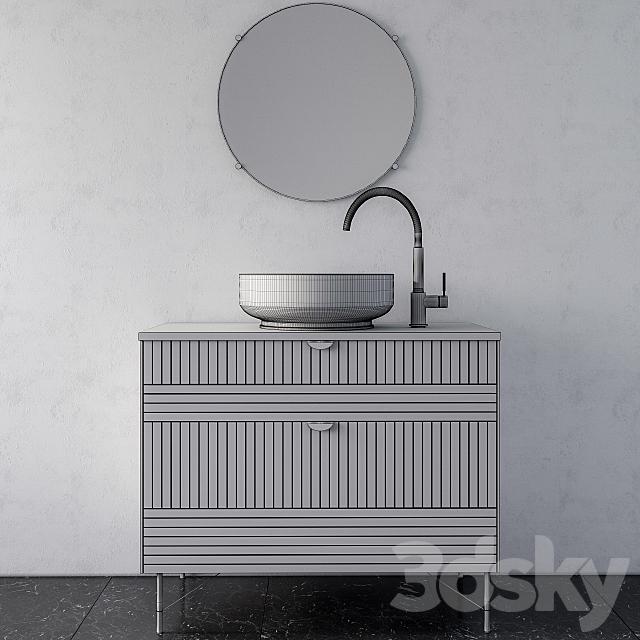 bathroom furniture ikea Blue