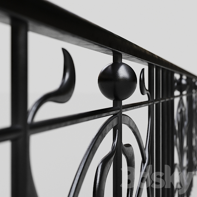 Forged fencing