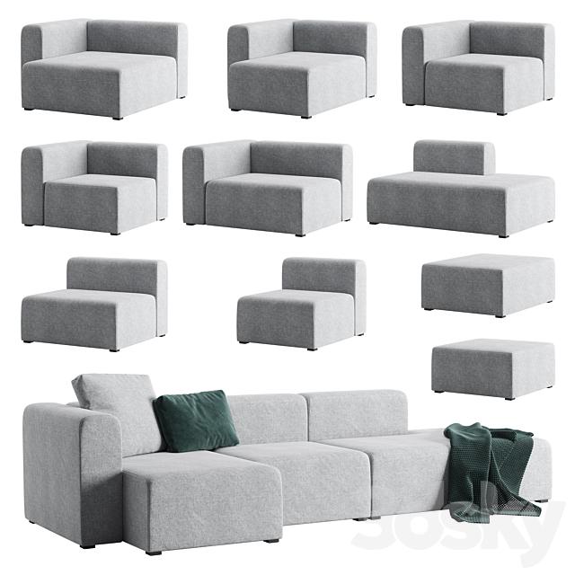 Modular sofa Hay Mags Sofa