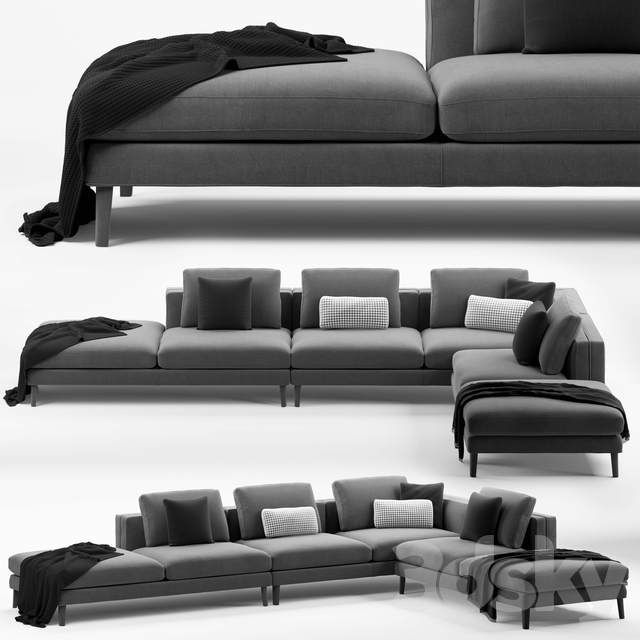 B & B Dives Sofa