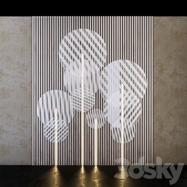 Decorative wall PN33