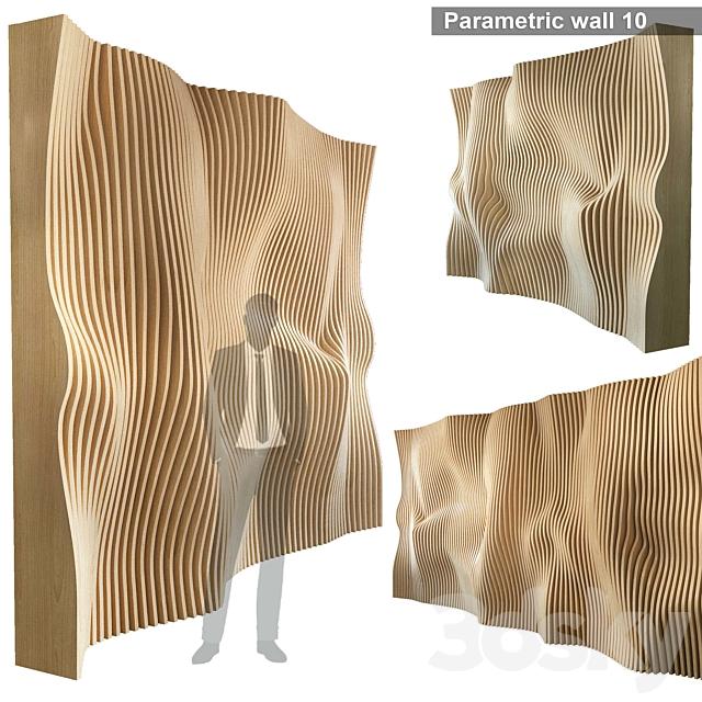 Parametric Wall 010