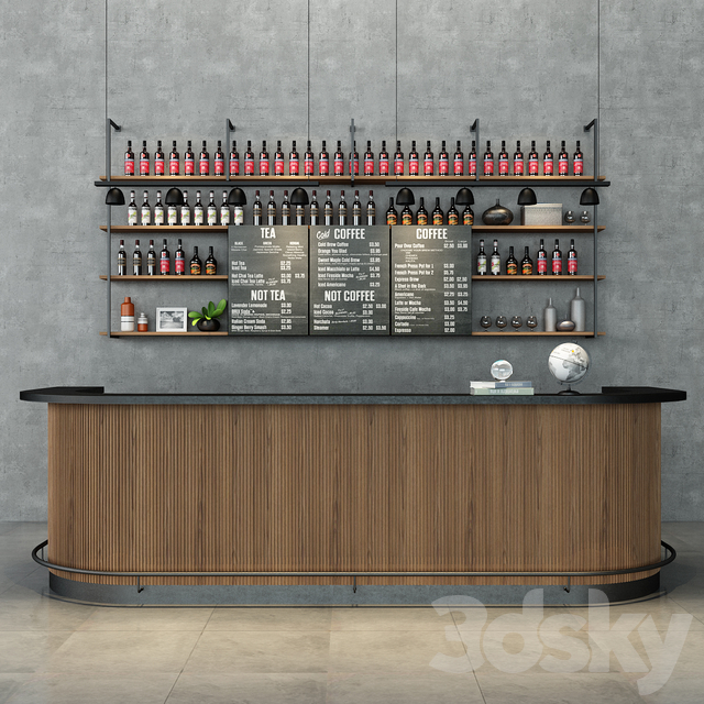 Coffee Bar Set-001