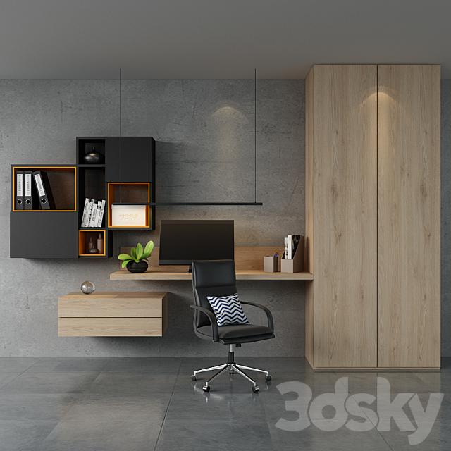 Home office ikea set