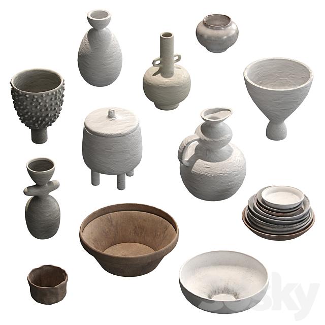 Pottery set v1