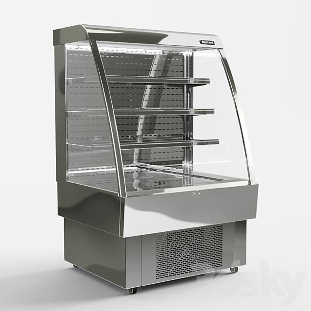 Refrigerated display case: Blizzard GRAB 100 Multideck Display