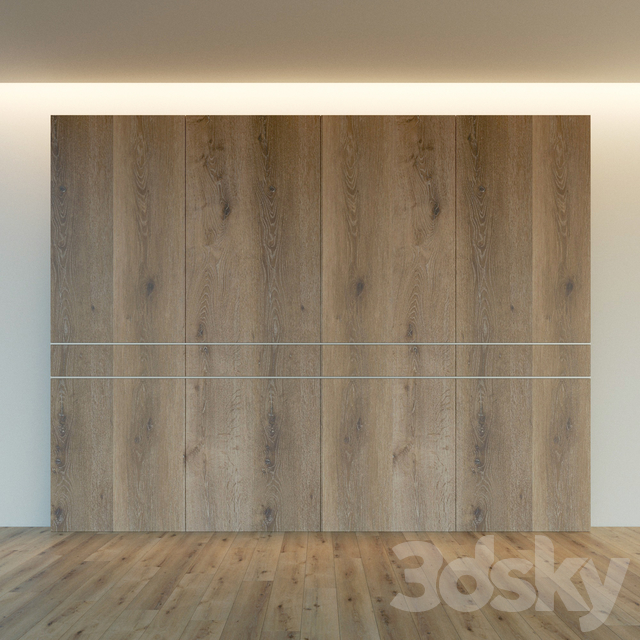 Wall panel made of wood. Decorative wall. 49