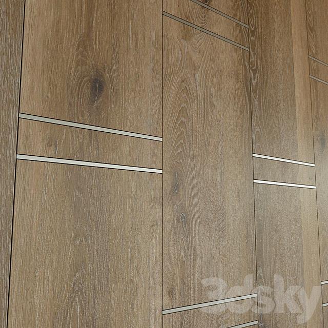 Wall panel made of wood. Decorative wall. 54