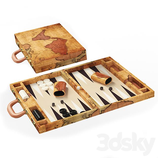 Backgammon Hattrick backgammon map