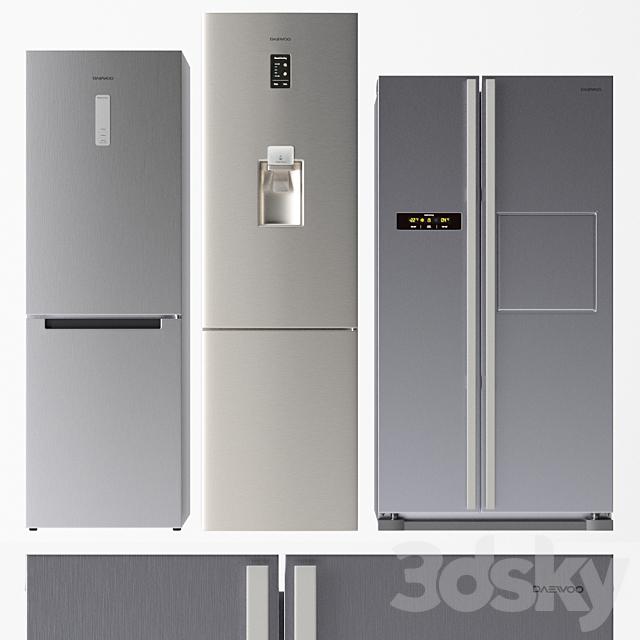 Daewoo Refrigerator Set