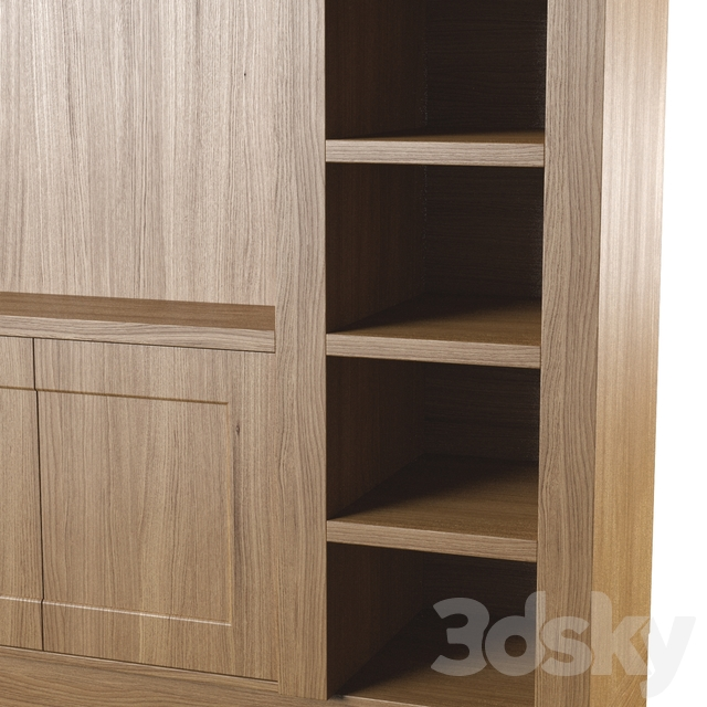 Wall cabinet for TV