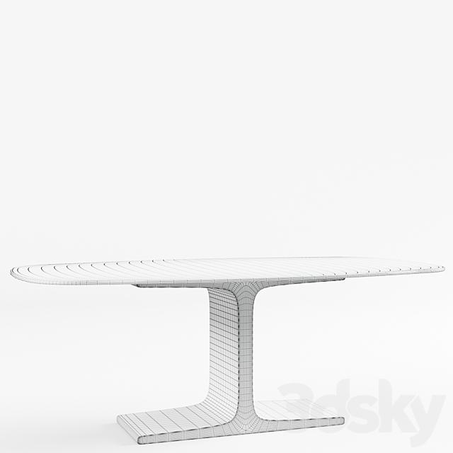 Sovet Italia Table Palace Shaped