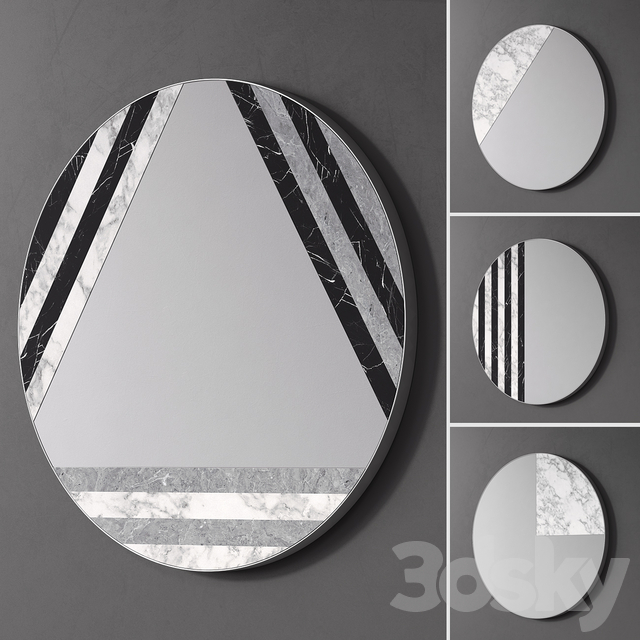 Mirror set by VISIONNAIRE