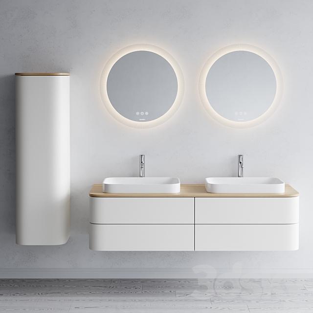 Duravit HAPPY D.2 PLUS | Double vanity unit