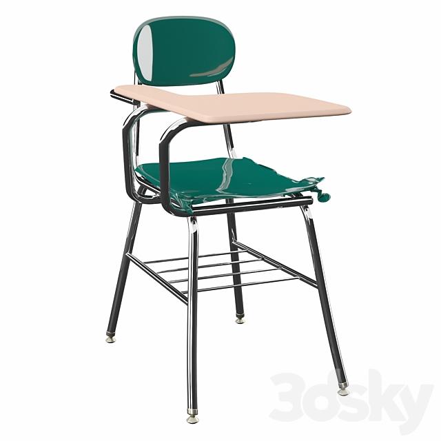 "Plastic 32 ""Tablet Arm Desk"