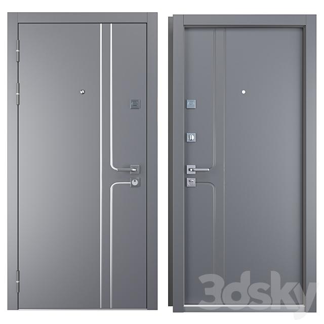 Entrance metal door Vista (Zimen)