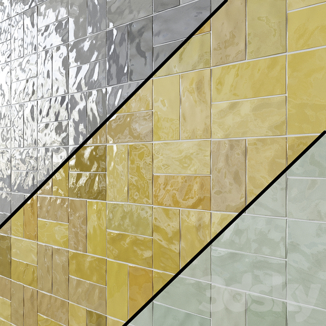 Ceramic wall tile WOW FEZ Gloss 2