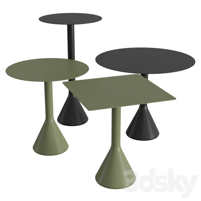 Palissade crown table