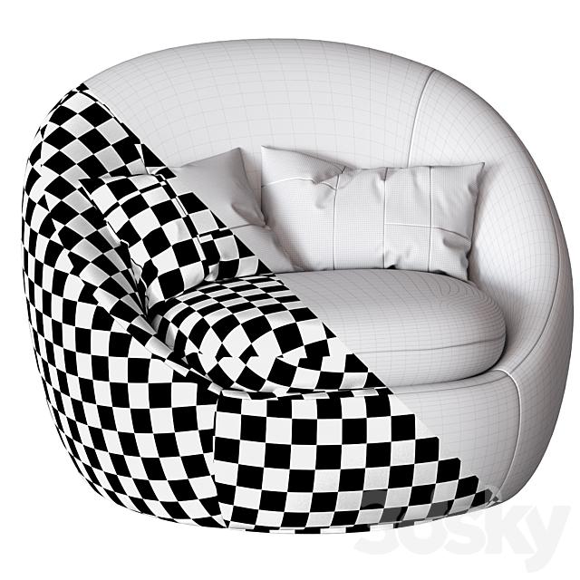 West Elm Cozy Swivel Chair