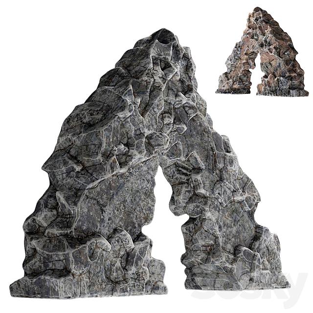 Rock sea arch
