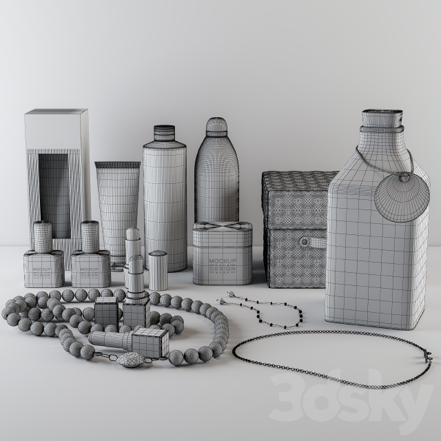Beauty Product and jewelry Decorative Set