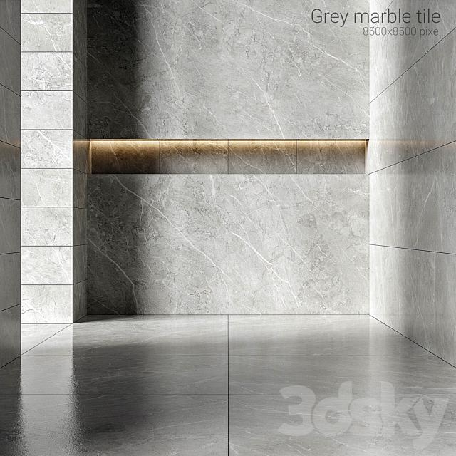 Gray marble tiles 3