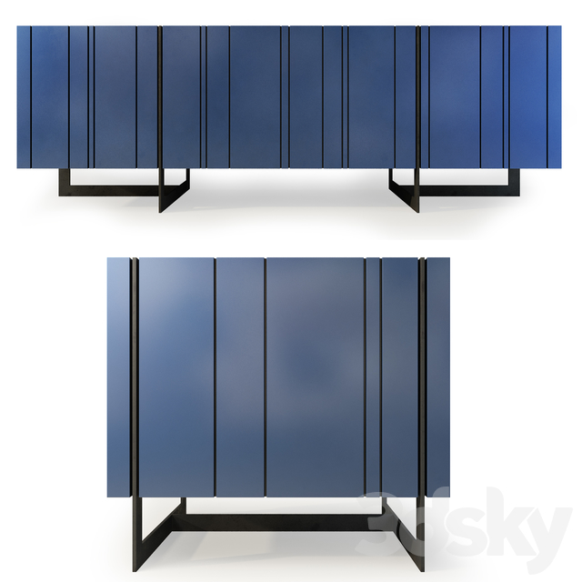 Chest and drawer Olsen. Sideboard nightstand by Werby