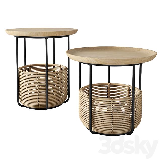 Allain Gilles Vincent Sheppard basket table