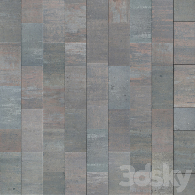 "Paving slabs MODERN / ""Golden Mandarin"""