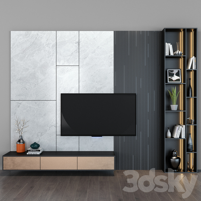TV shelf 64