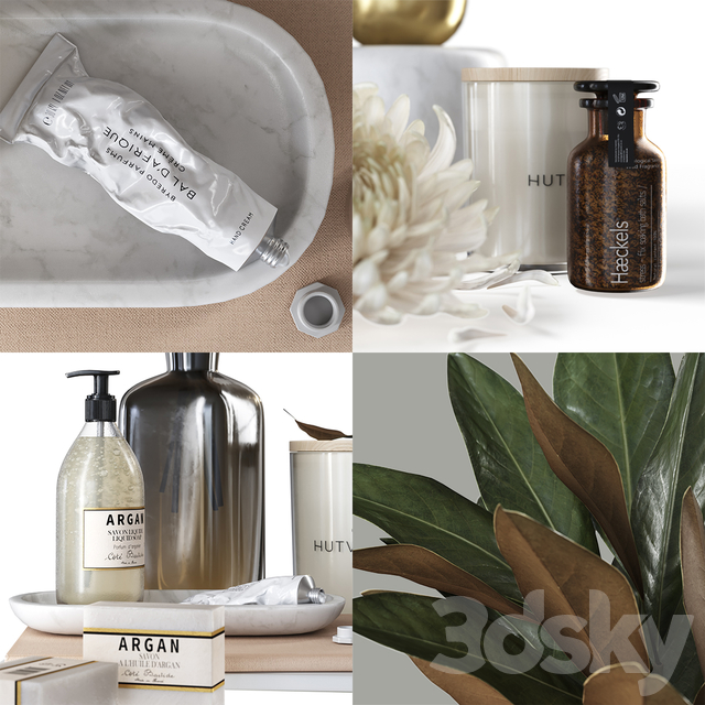 Hutwoods Bath Set
