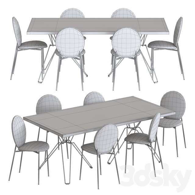 NV Gallery Set Blaze Chair And Blofeld Table