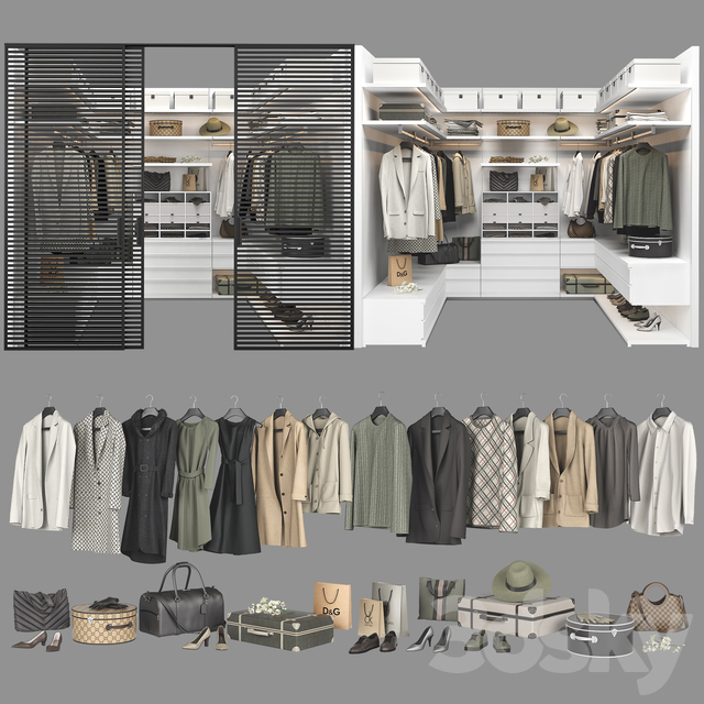Poliform Ubik Walk-in Closet 3