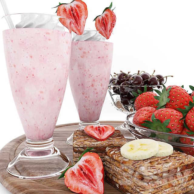 Strawberry summer set