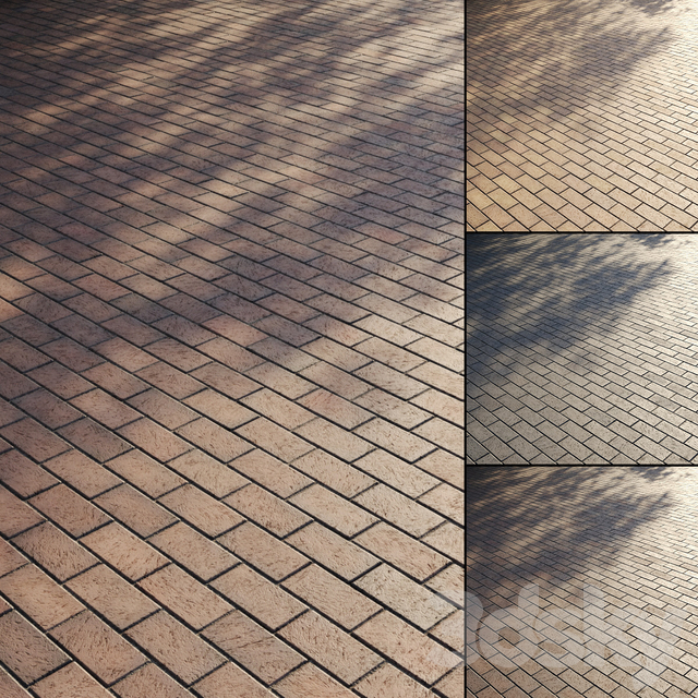 Brick paving slabs Type 1