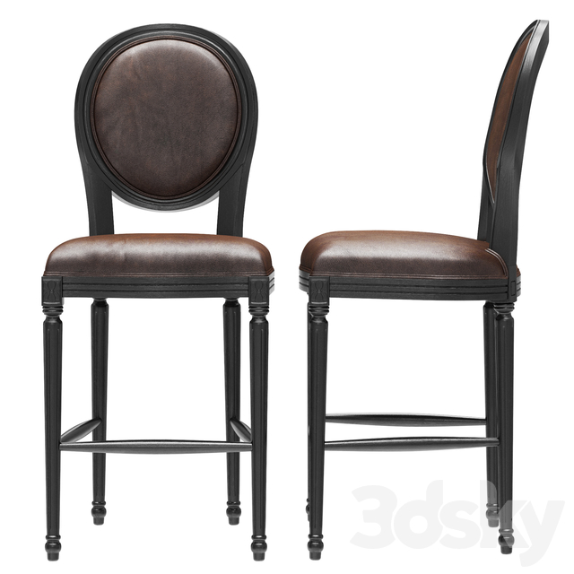 Loft Concept Chair French chairs Provence Bar Black Chair