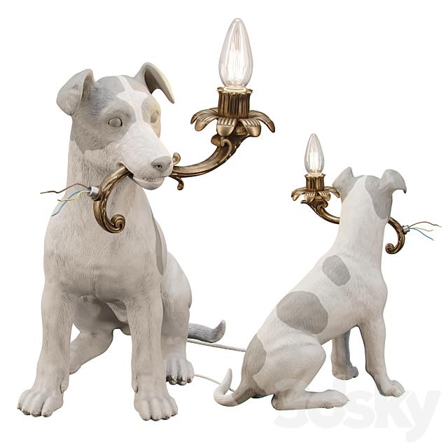 5 MINUTES ALONE ... (Dog lamp)