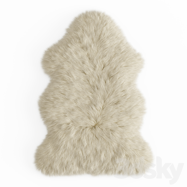 Forsyth New Zealand Sheepskin Skin Rug