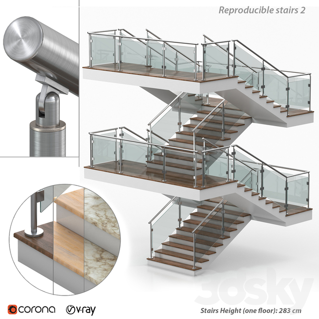 Reproducible stairs 2