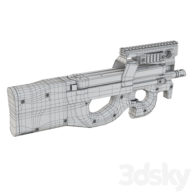 Submachine Gun FN P90