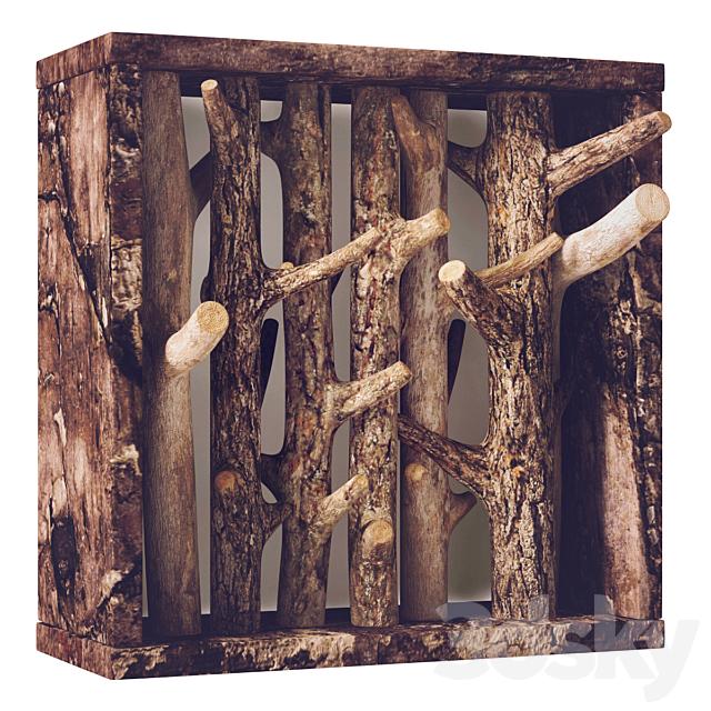 Firewood hanger / Log hanger decor