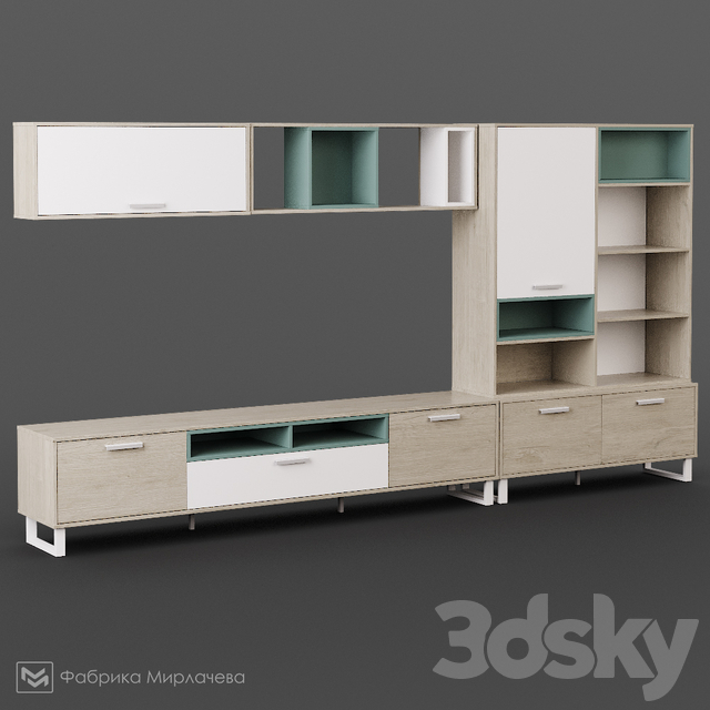 SCANDI modular wall