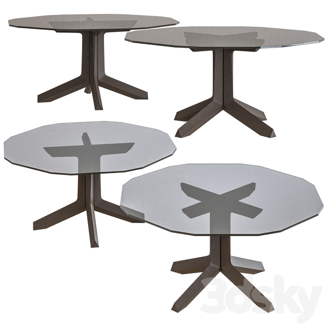 3d Models Table Poltrona Frau Othello Dining Table