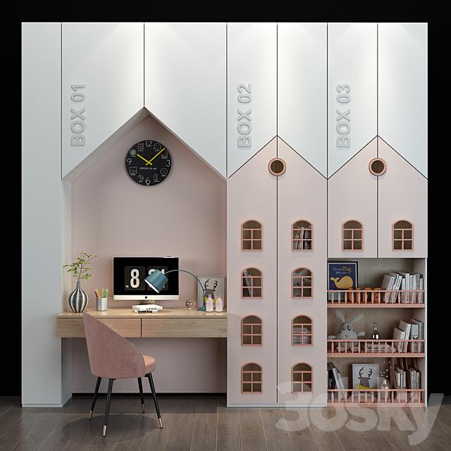 Furniture for a children 078