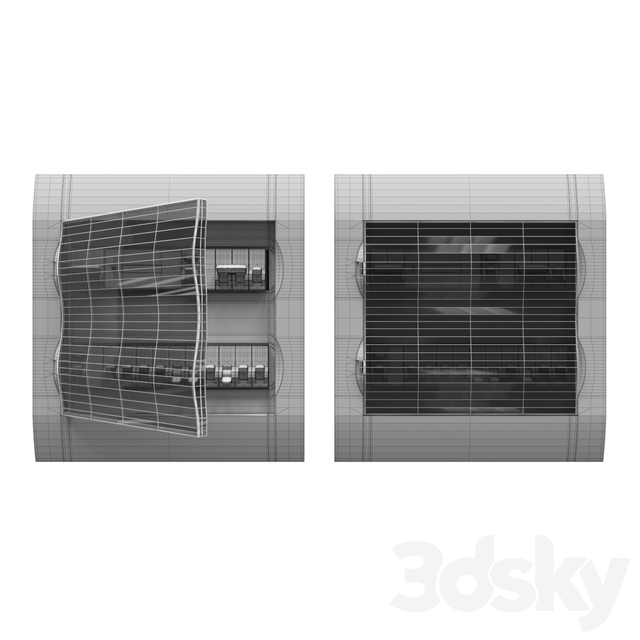 Schneider Electric Easy9 built-in 24-module electrical panel