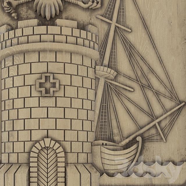 Coat of arms of Feodosia